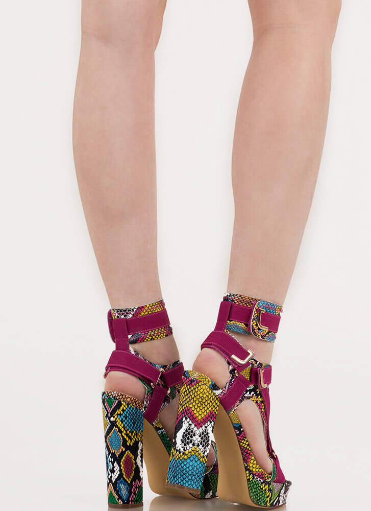 Band Mate Caged Reptile Platforms SNAKEMULTI