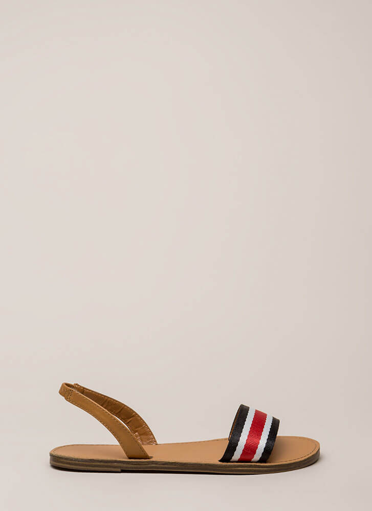 Let's Go Around Again Slingback Sandals MULTI