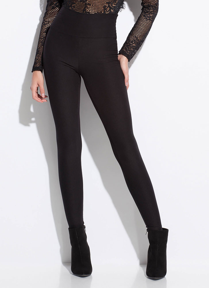 It's Essential High-Waisted Leggings BLACK