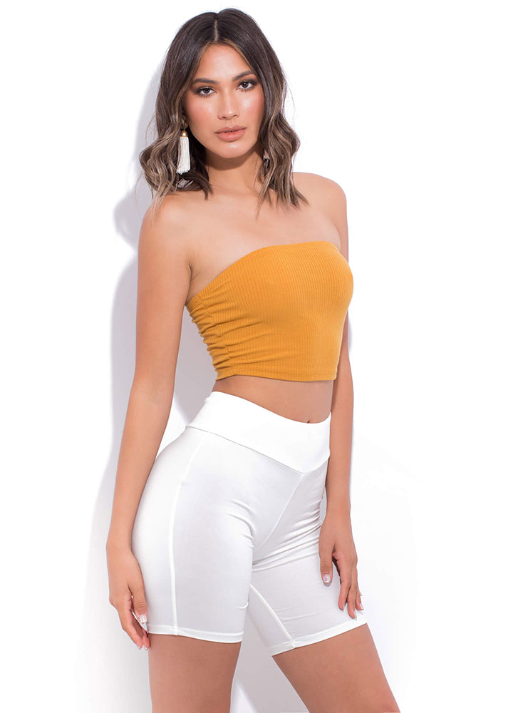 Need Want And Must-Have Biker Shorts WHITE