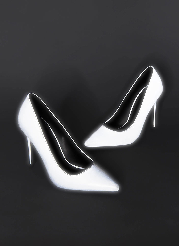 Your Time To Shine Stiletto Pumps GREY