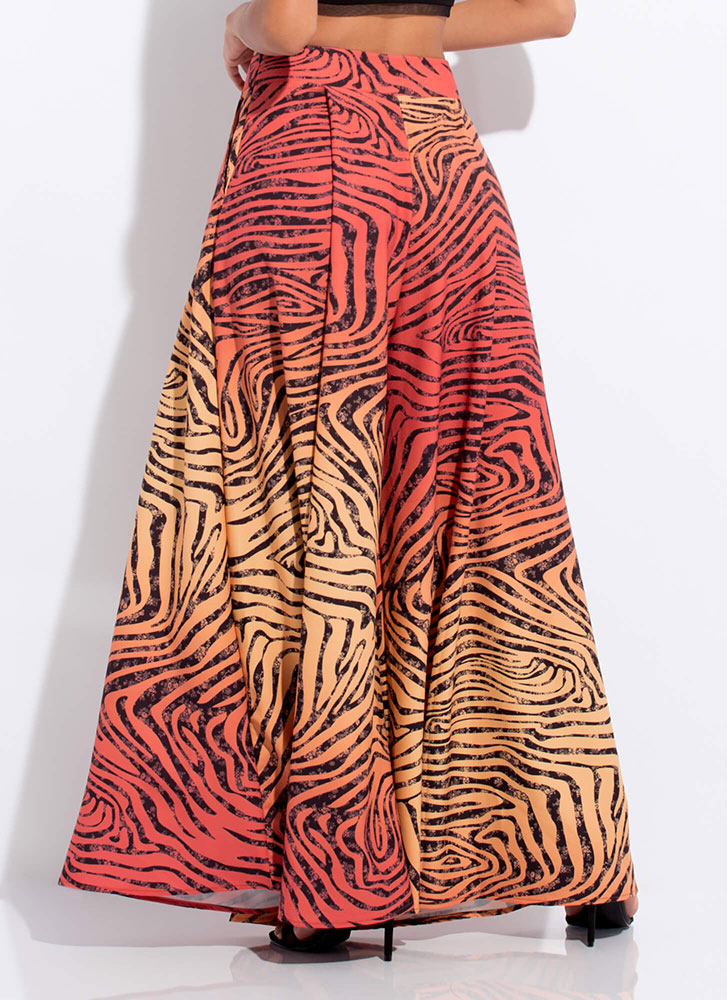 Wild Thing Extra Wide Palazzo Pants MULTI