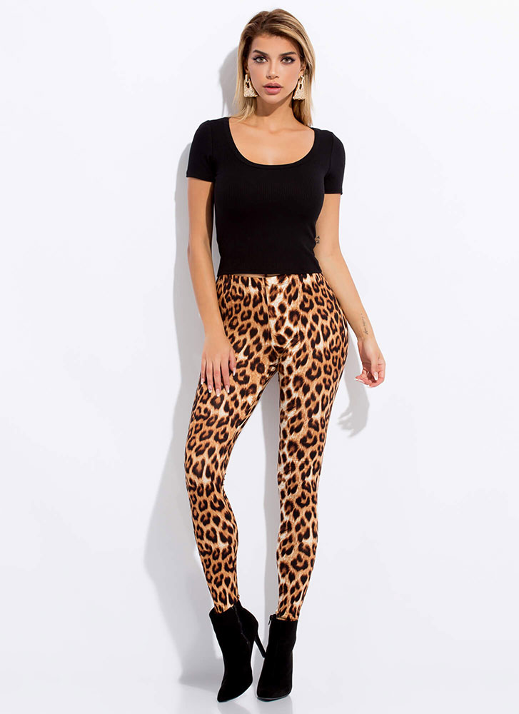 All Leopard Everything Leggings LEOPARD