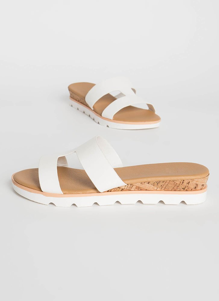 Cut-Out For The Cabana Platform Slides WHITE