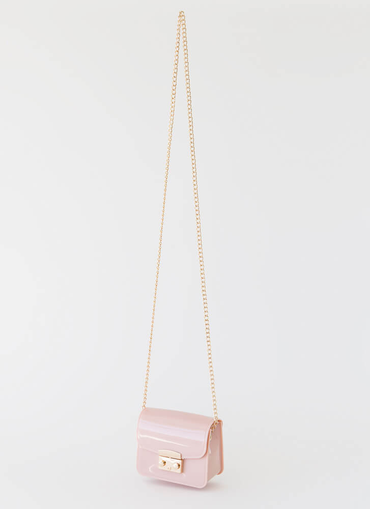 Small Packages Mini Jelly Purse PINK
