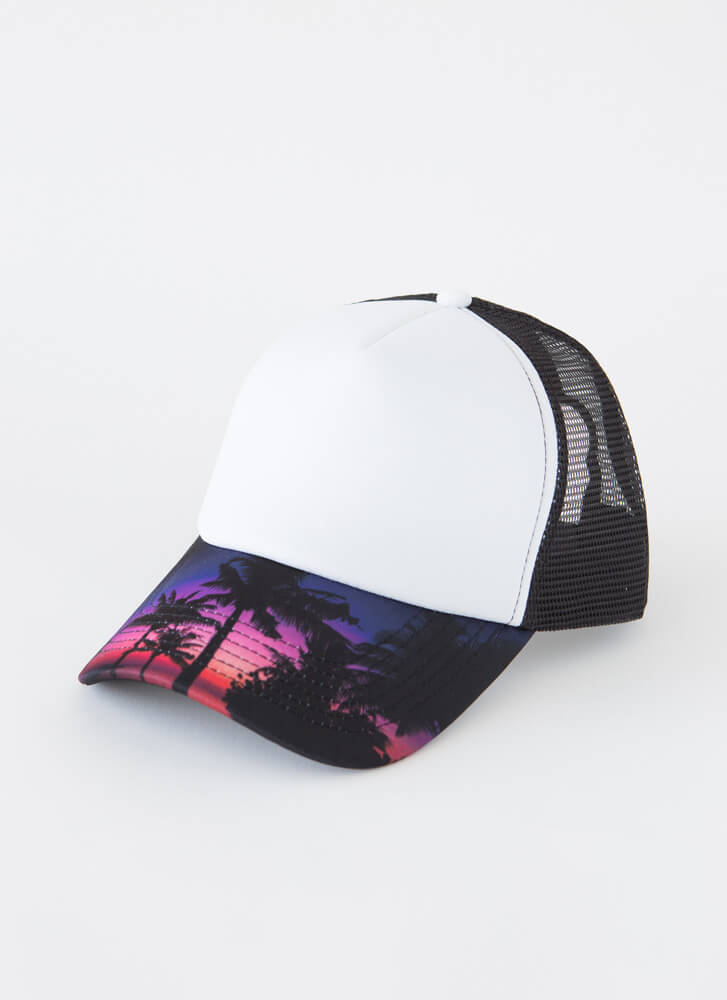 The Colorful Life Trucker Hat MULTI