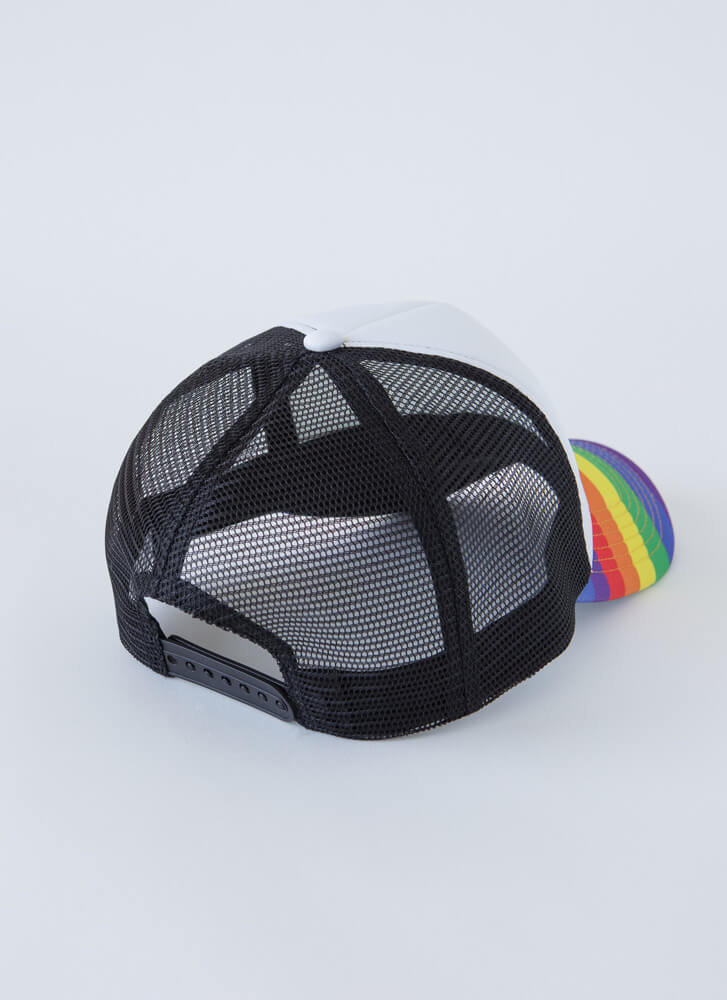 The Colorful Life Trucker Hat RAINBOW