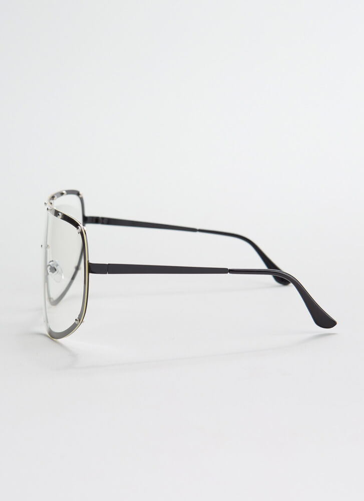 Goggle It Studded Reader Glasses BLACK