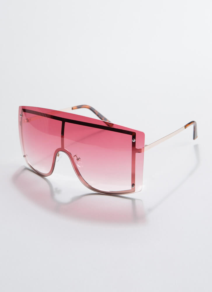Going Down Under Goggle Sunglasses ROSE
