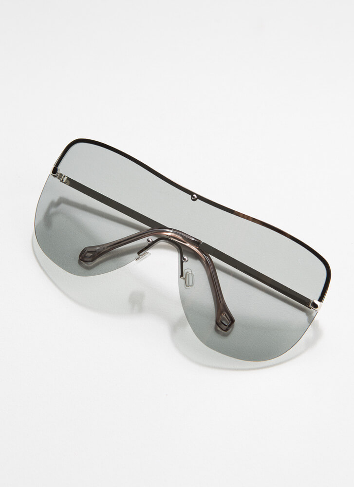Cool Your Jets Goggle Sunglasses CLEAR