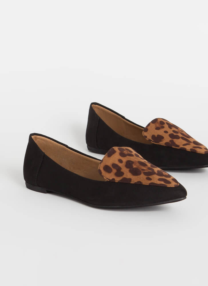 Big Cat Energy Spotted Smoking Flats LEOPARD