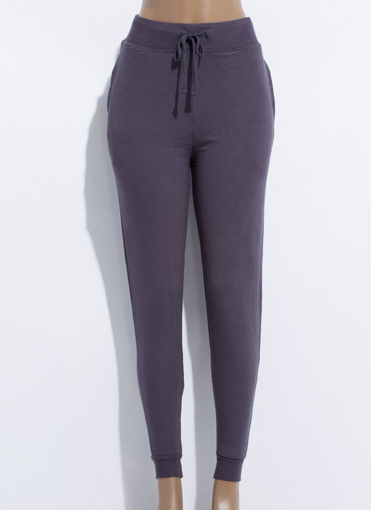 Inside And Out Sweatpant Joggers CHARCOAL (Final Sale)
