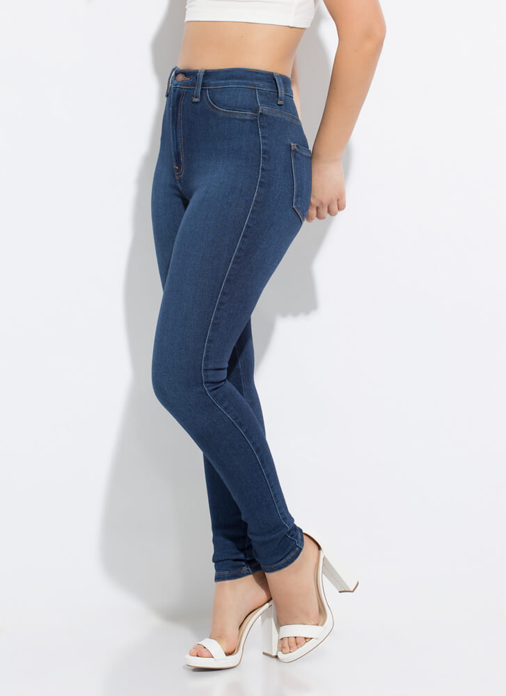 Forever Yours High-Waisted Skinny Jeans DKSTONE