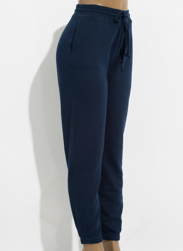 Live In 'Em Drawstring Sweatpant Joggers ECLIPSE