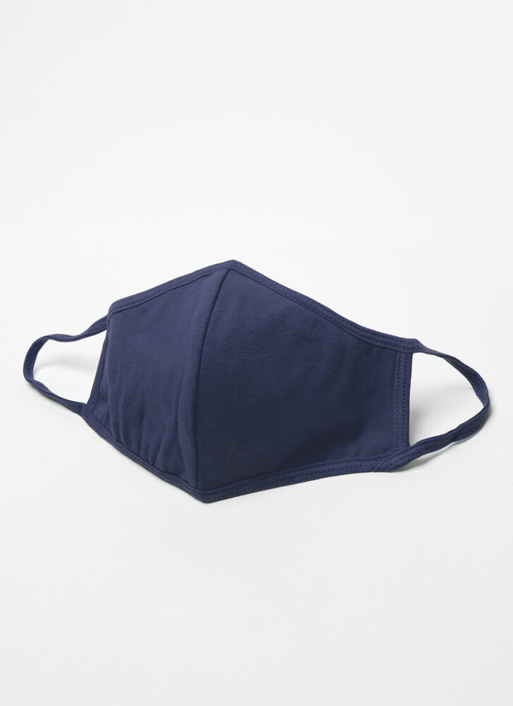 Never Leave Home Without It Face Mask NAVY