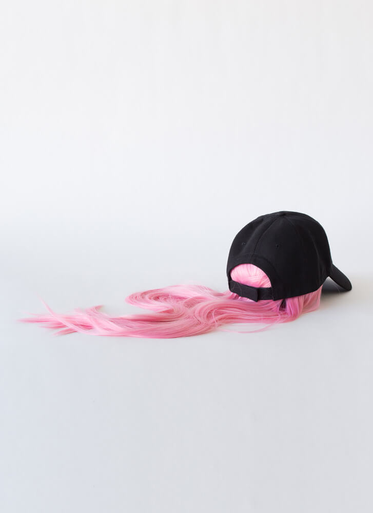 Snatching Wigs Faux Hair Cap PINK