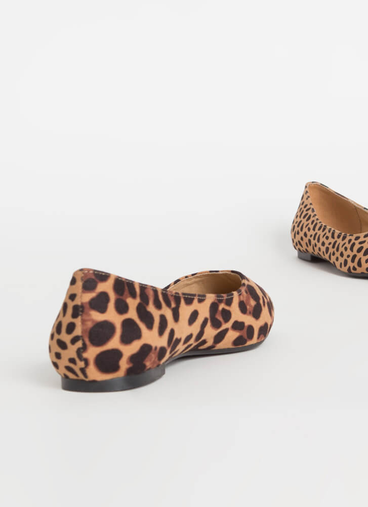 It's Two-Sided Leopard And Cheetah Flats CHEETAH