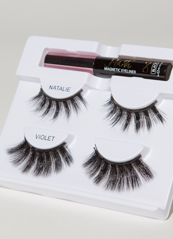 Like Magic Magnetic Liner And Lashes Kit BLACK