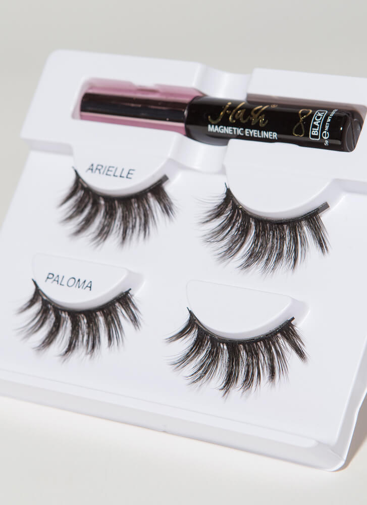 You're So Magnetic Liner And Lashes Kit BLACK