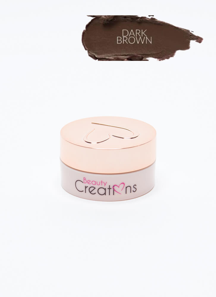Define Me Waterproof Matte Eyebrow Gel DKBROWN
