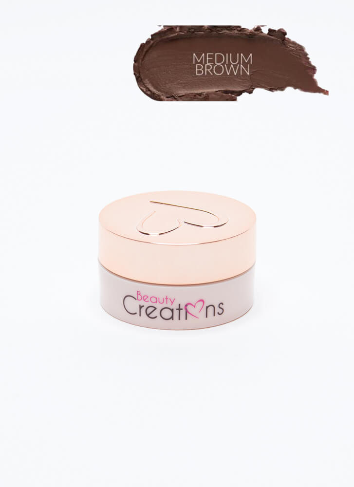Define Me Waterproof Matte Eyebrow Gel MEDBROWN