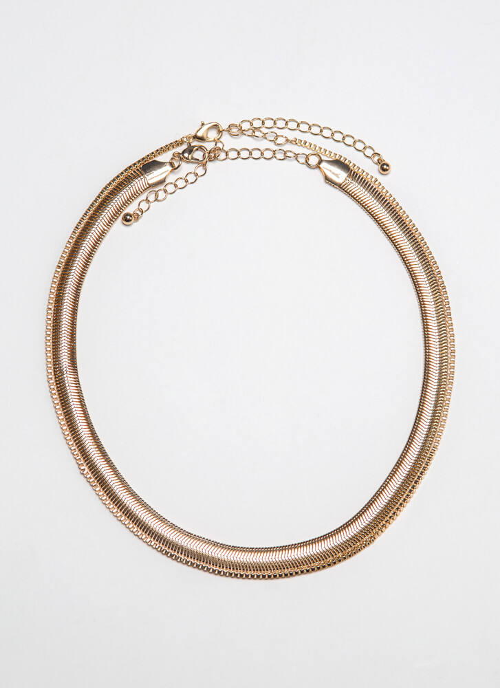 2 Can Play This Game Chain Necklace Duo GOLD