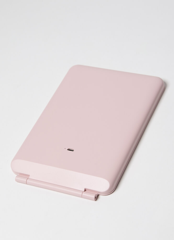Face It Rechargeable LED Makeup Mirror PINK