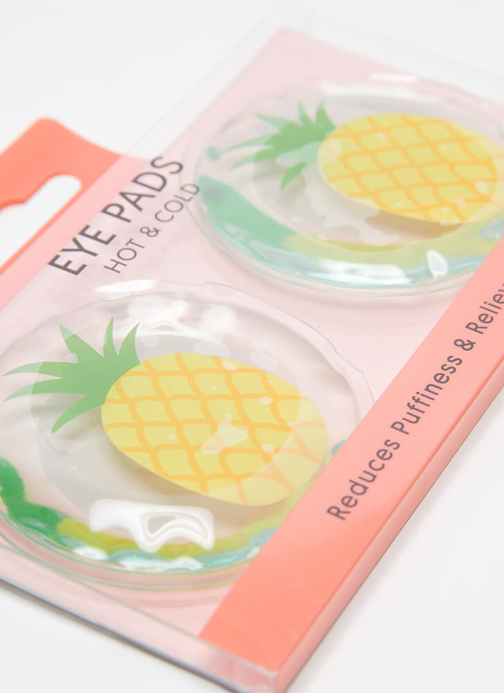 Hot And Cold Pineapple Eye Pads PINEAPPLE