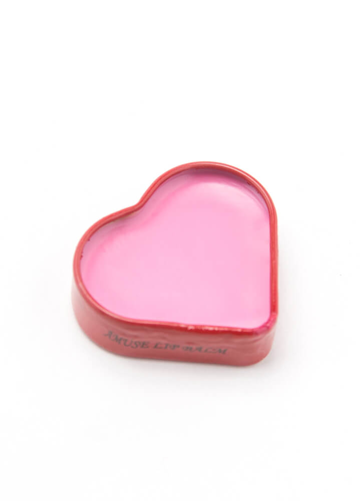 Smooches Heart-Shaped Flavored Lip Balm CHERRY