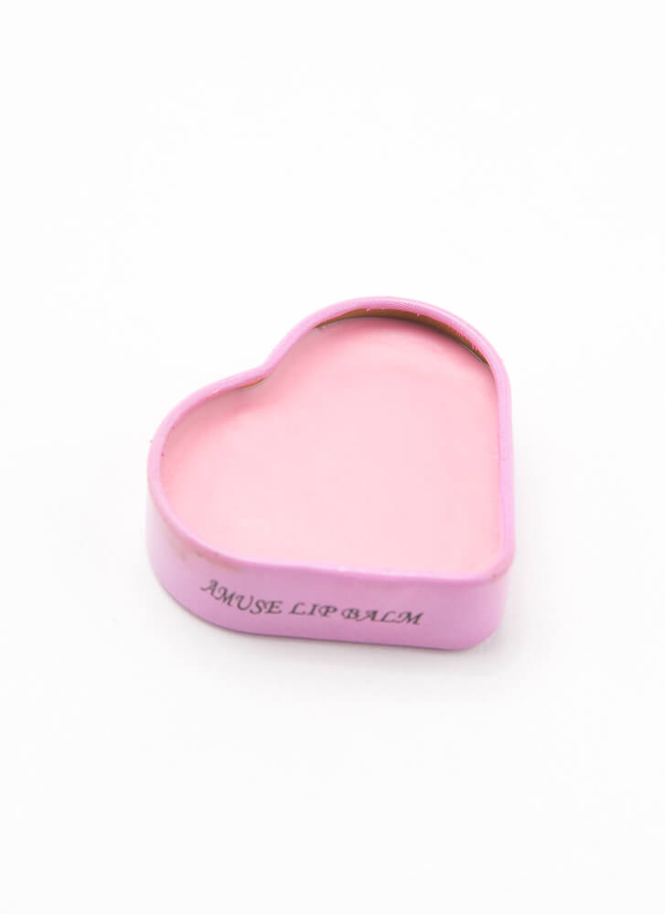 Smooches Heart-Shaped Flavored Lip Balm STRAWBERRY