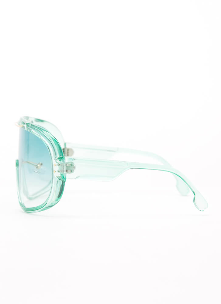 Color My World Goggle Sunglasses MINT