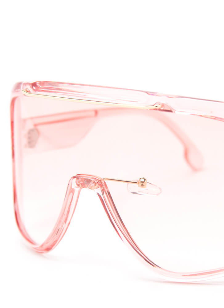 Color My World Goggle Sunglasses PINK