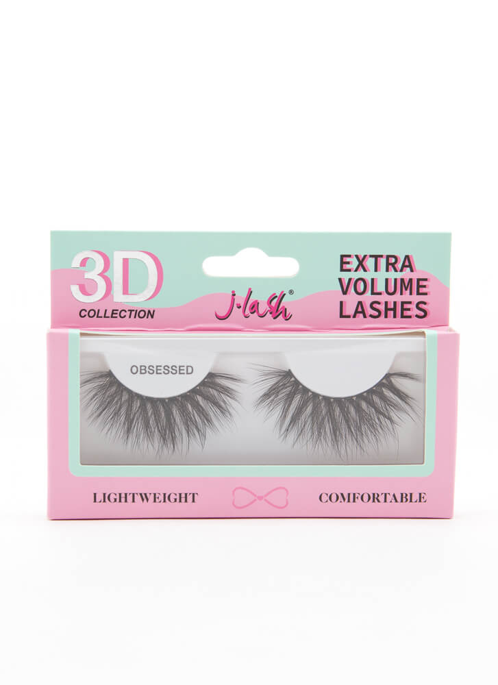3D Effect Extra Volume Lashes OBSESSED