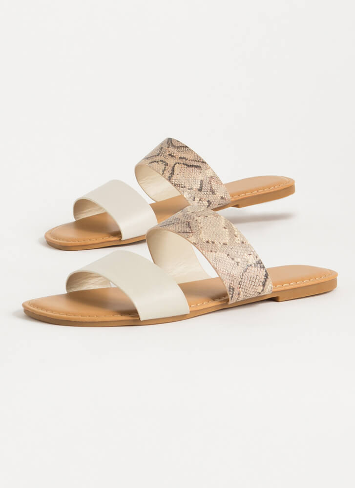 Year Of The Animal Slide Sandals IVY