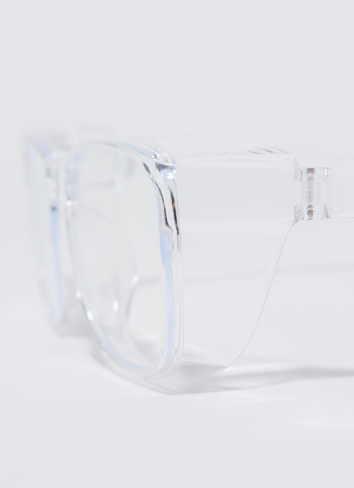 You're Blocked Blue Light Reader Glasses CLEAR