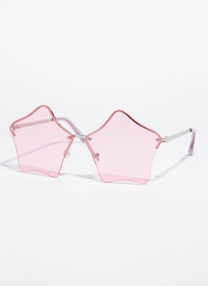 Stars In Your Eyes Sunglasses PINK
