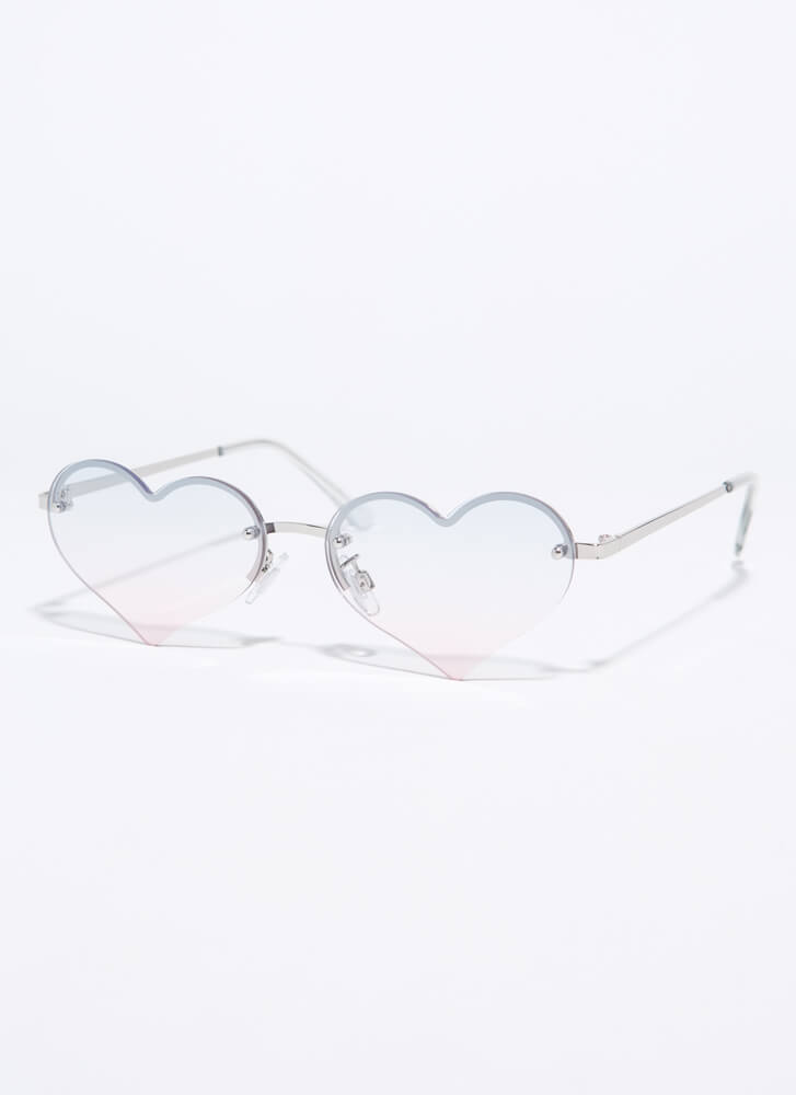 Only Have Heart Eyes For You Sunglasses CLEAR