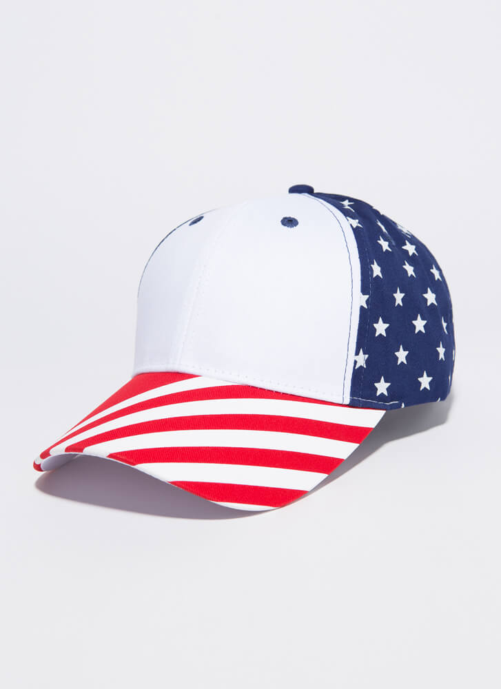 Flag On The Play Stars And Stripes Cap MULTI