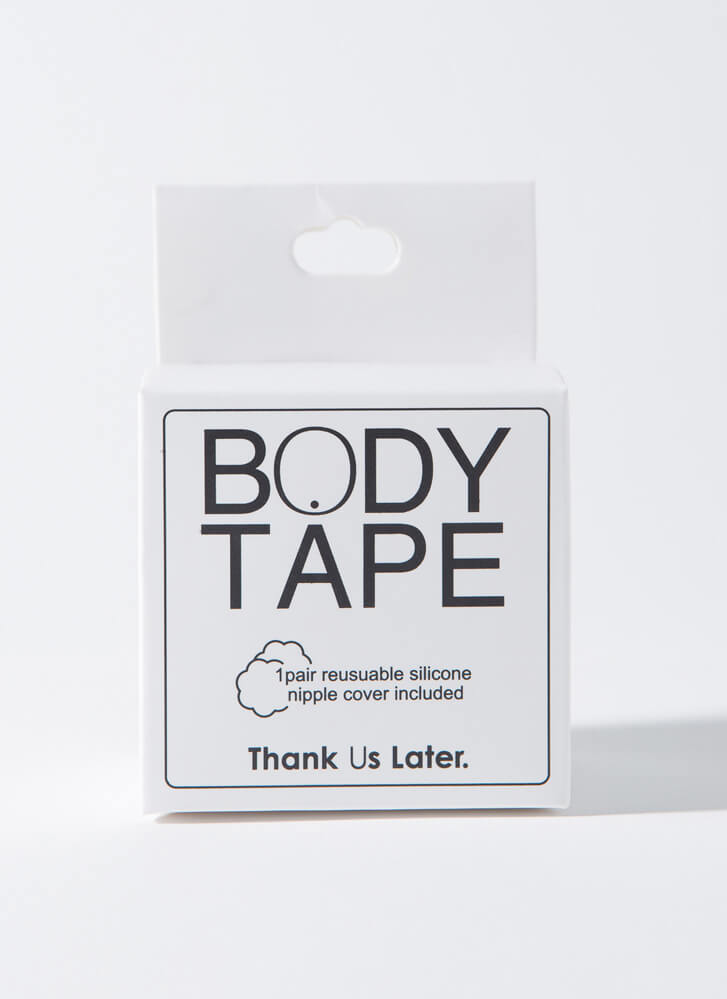 Boost Of Confidence Body Tape Set CLEAR