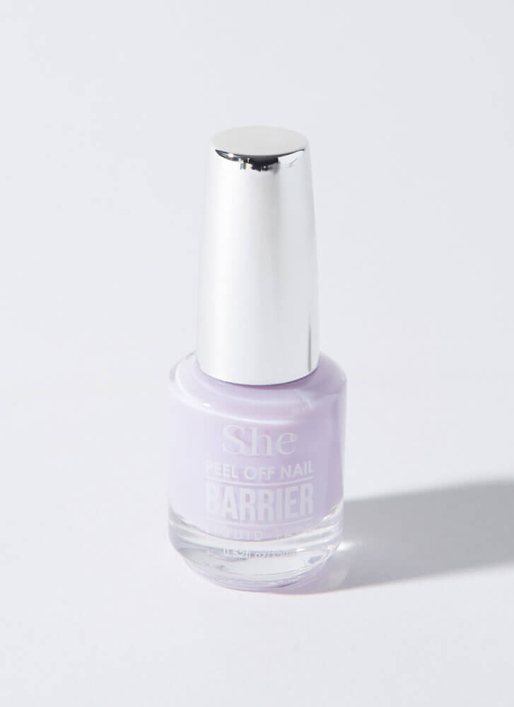 Nailed It Peel-Off Liquid Nail Barrier LILAC