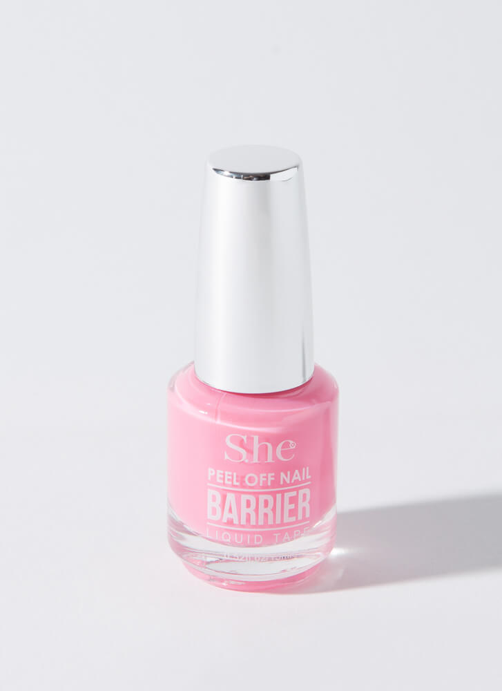 Nailed It Peel-Off Liquid Nail Barrier PINK
