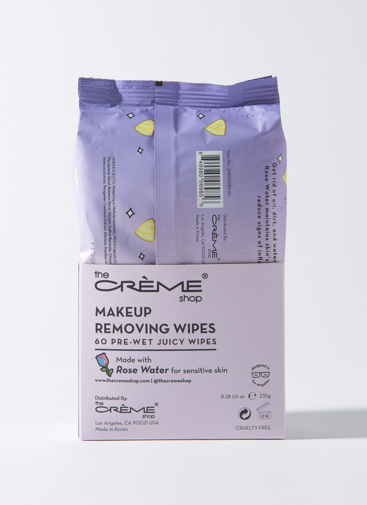 Add Rose Water Makeup Removing Wipes ROSE