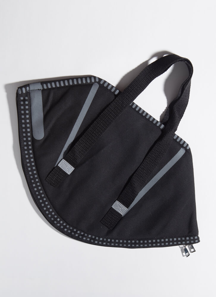 Stop The Spread Oversized Face Mask Bag BLACK