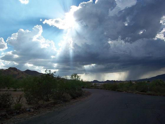Carefree, Arizona Sky
