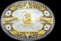 Custom Trophy Buckles by Montana Silversmiths