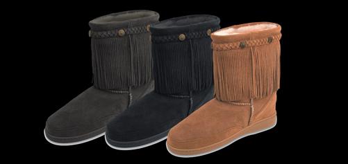 Fringe Classic Pug Boot