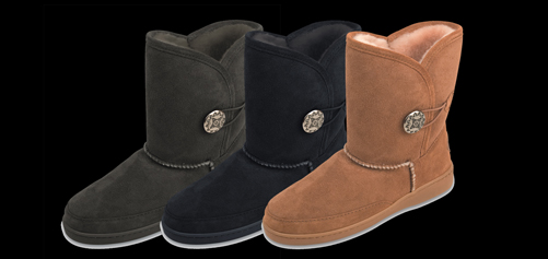 Side Button Classic Pug Boot