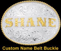 Custom Name Belt Buckle