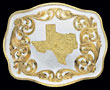 Customizable Belt Buckle - Texas