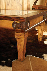 Western Coffee Table - Corner